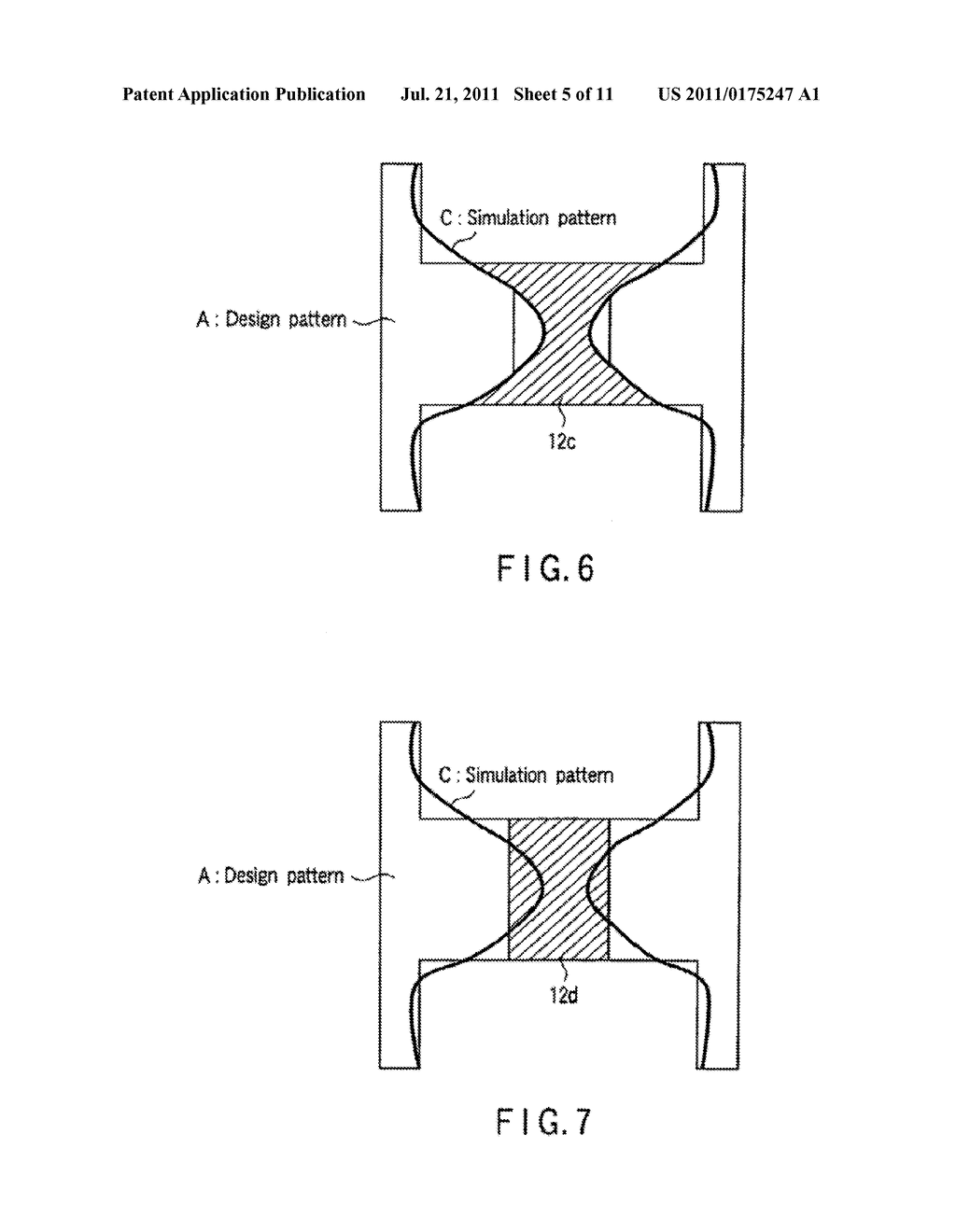 SEMICONDUCTOR INTEGRATED CIRCUIT PATTERN VERIFICATION METHOD, PHOTOMASK     MANUFACTURING METHOD, SEMICONDUCTOR INTEGRATED CIRCUIT DEVICE     MANUFACTURING METHOD, AND PROGRAM FOR IMPLEMENTING SEMICONDUCTOR     INTEGRATED CIRCUIT PATTERN VERIFICATION METHOD - diagram, schematic, and image 06
