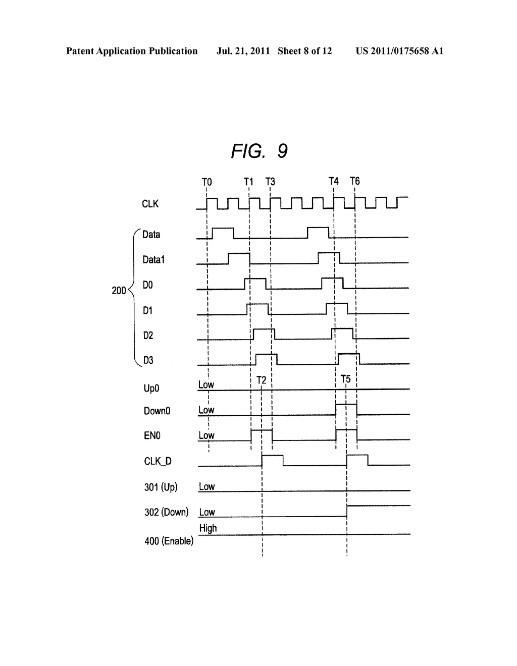 SEMICONDUCTOR INTEGRATED CIRCUIT AND OPERATING VOLTAGE CONTROL METHOD - diagram, schematic, and image 09