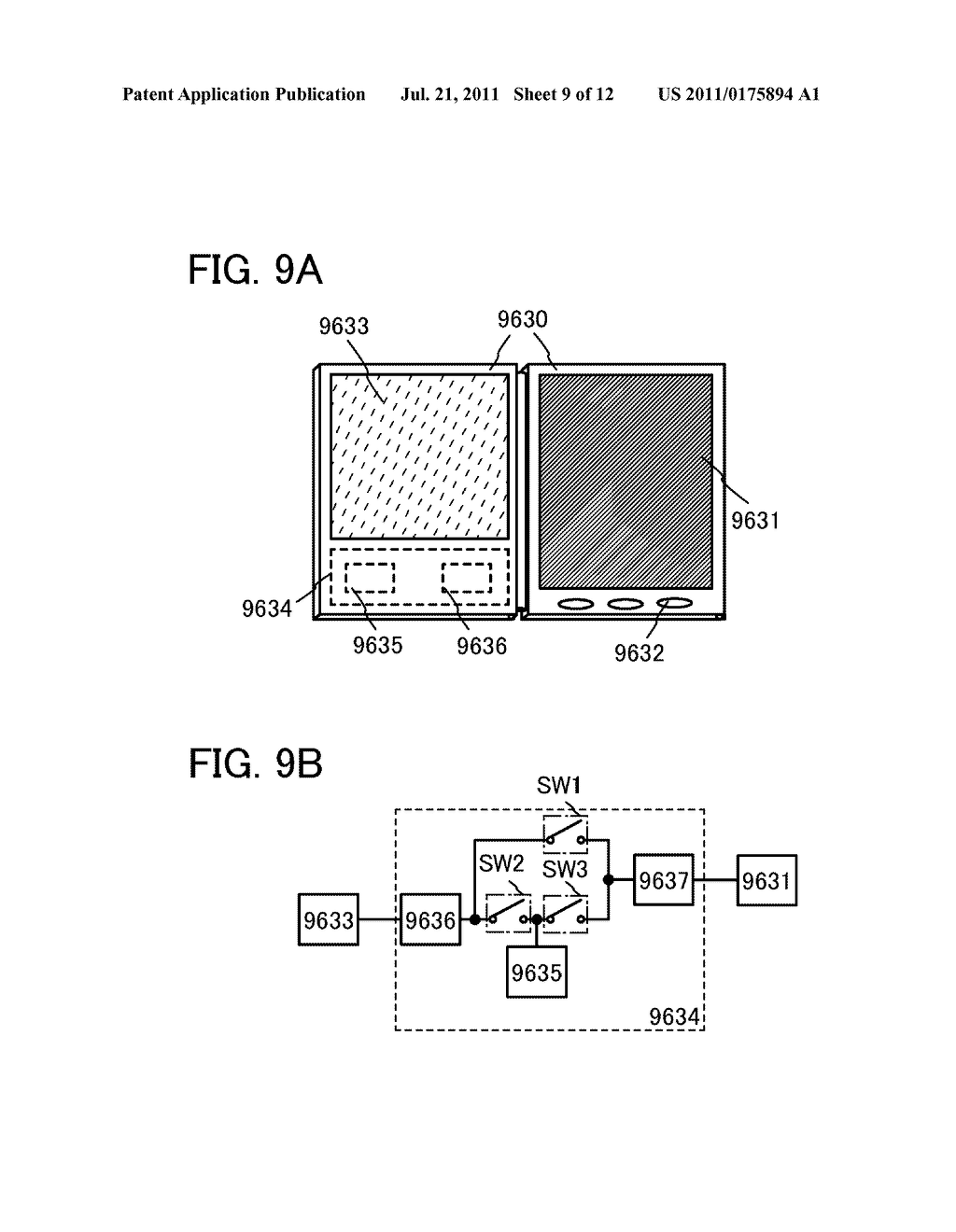METHOD FOR DRIVING DISPLAY DEVICE - diagram, schematic, and image 10
