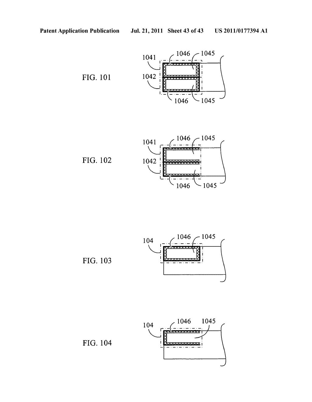 Equalizing electrode plate with insulated split-flow conductive structure - diagram, schematic, and image 44