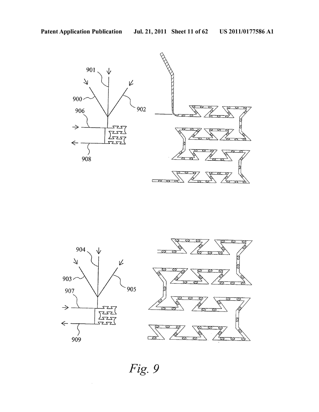 DEVICE AND METHOD FOR PRESSURE-DRIVEN PLUG TRANSPORT - diagram, schematic, and image 12