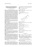 MEDICINAL APPLICATIONS OF BENZOIC ACID HYDRAZONES SYNTHESIZED ON THE BASIS     OF STEROIDAL TIGOGENIN diagram and image