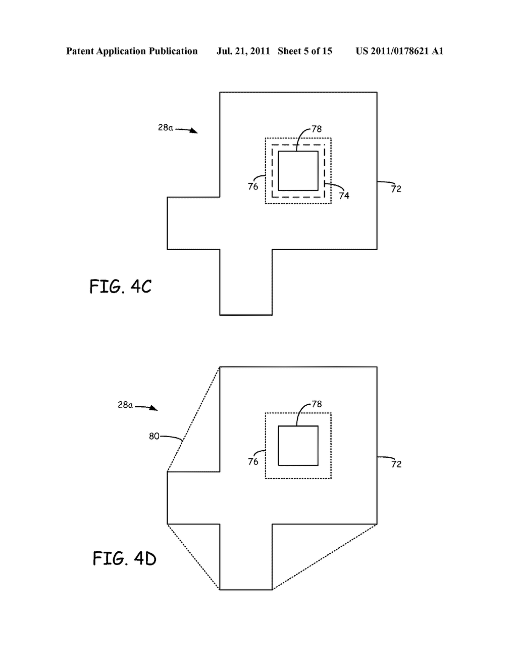 METHOD FOR GENERATING AND BUILDING SUPPORT STRUCTURES WITH     DEPOSITION-BASED DIGITAL MANUFACTURING SYSTEMS - diagram, schematic, and image 06