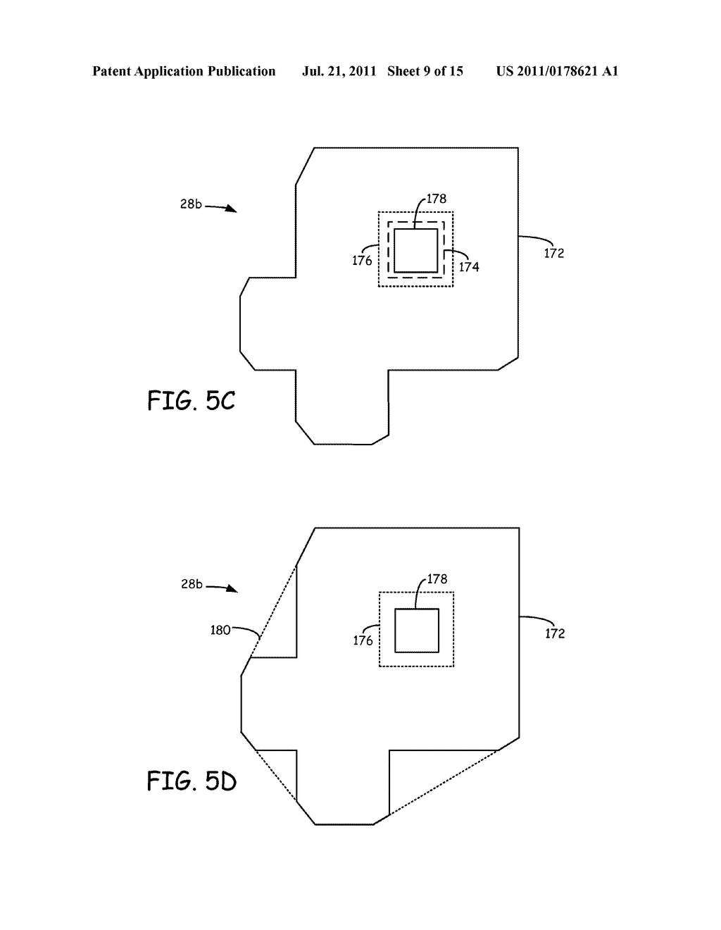 METHOD FOR GENERATING AND BUILDING SUPPORT STRUCTURES WITH     DEPOSITION-BASED DIGITAL MANUFACTURING SYSTEMS - diagram, schematic, and image 10