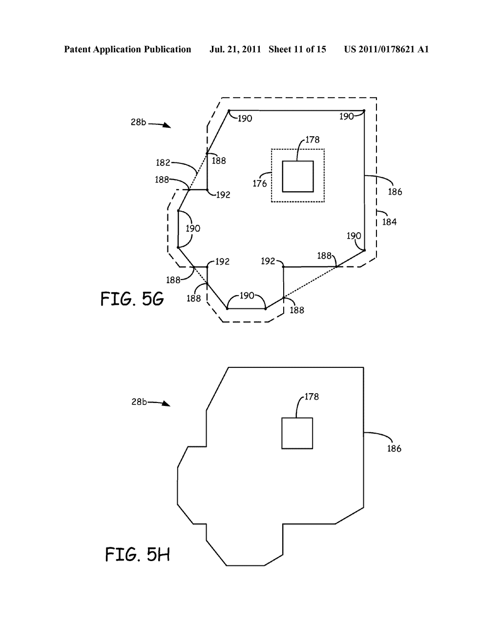 METHOD FOR GENERATING AND BUILDING SUPPORT STRUCTURES WITH     DEPOSITION-BASED DIGITAL MANUFACTURING SYSTEMS - diagram, schematic, and image 12
