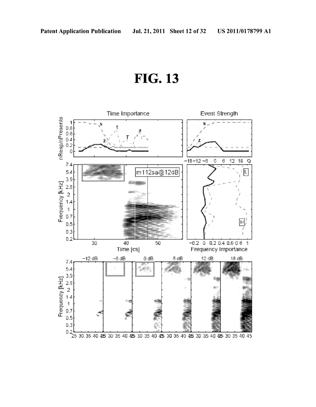 METHODS AND SYSTEMS FOR IDENTIFYING SPEECH SOUNDS USING MULTI-DIMENSIONAL     ANALYSIS - diagram, schematic, and image 13