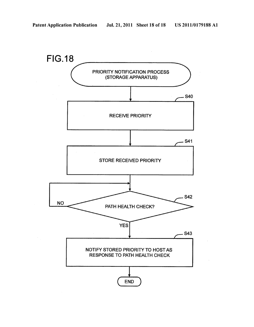 STORAGE SYSTEM AND STORAGE SYSTEM COMMUNICATION PATH MANAGEMENT METHOD - diagram, schematic, and image 19