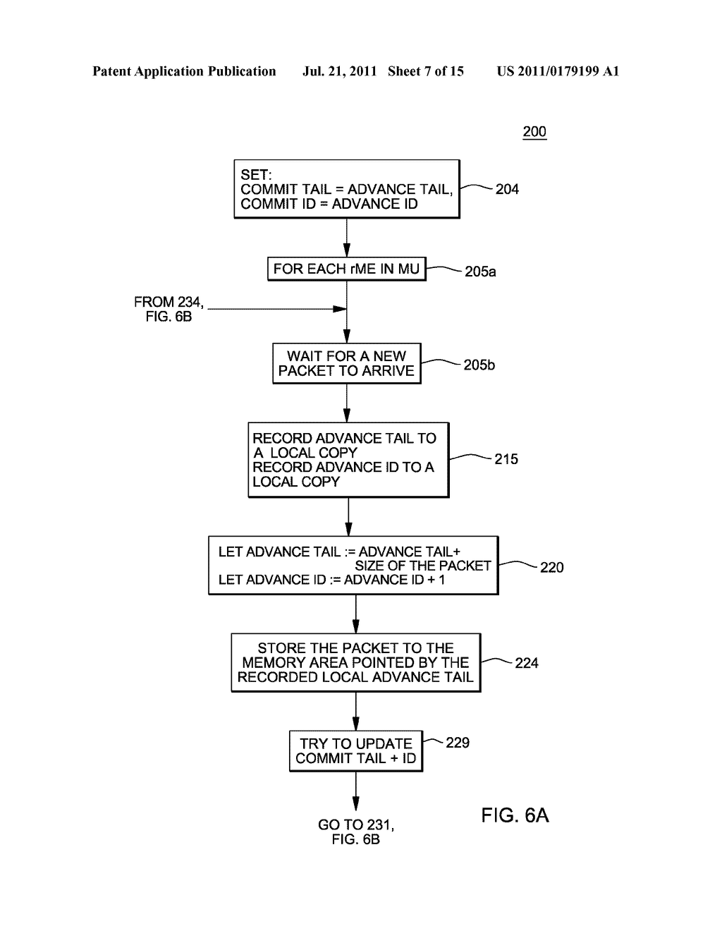 SUPPORT FOR NON-LOCKING PARALLEL RECEPTION OF PACKETS BELONGING TO THE     SAME RECEPTION FIFO - diagram, schematic, and image 08