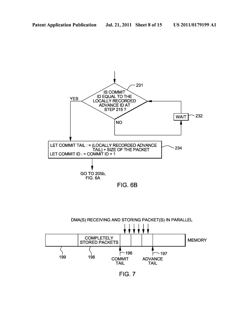 SUPPORT FOR NON-LOCKING PARALLEL RECEPTION OF PACKETS BELONGING TO THE     SAME RECEPTION FIFO - diagram, schematic, and image 09