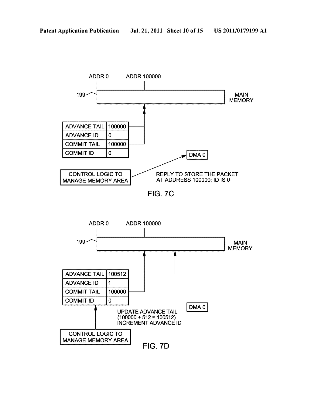 SUPPORT FOR NON-LOCKING PARALLEL RECEPTION OF PACKETS BELONGING TO THE     SAME RECEPTION FIFO - diagram, schematic, and image 11