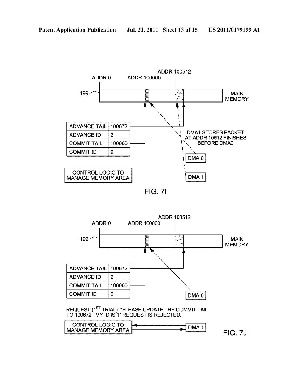 SUPPORT FOR NON-LOCKING PARALLEL RECEPTION OF PACKETS BELONGING TO THE     SAME RECEPTION FIFO - diagram, schematic, and image 14