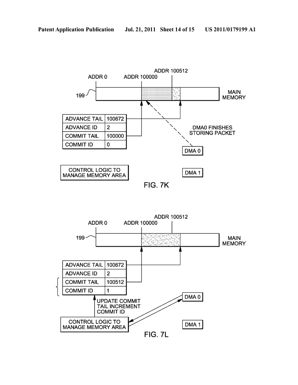 SUPPORT FOR NON-LOCKING PARALLEL RECEPTION OF PACKETS BELONGING TO THE     SAME RECEPTION FIFO - diagram, schematic, and image 15