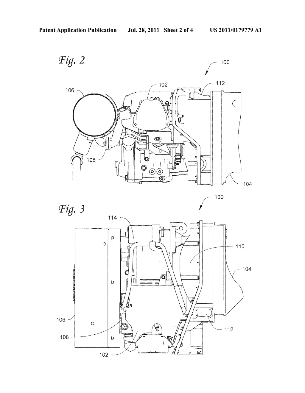 EMISSIONS TREATMENT IN GENSET ENGINES THROUGH AIR INJECTION INTO THE     EXHAUST SYSTEM OF A GENSET - diagram, schematic, and image 03