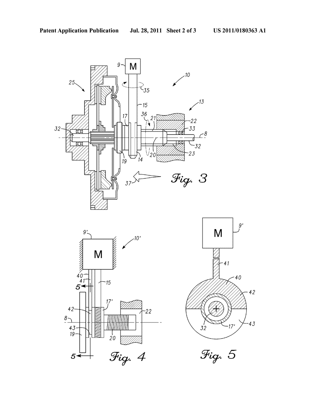 ELECTRO-MECHANICAL CLUTCH ACTUATOR ASSEMBLY - diagram, schematic, and image 03