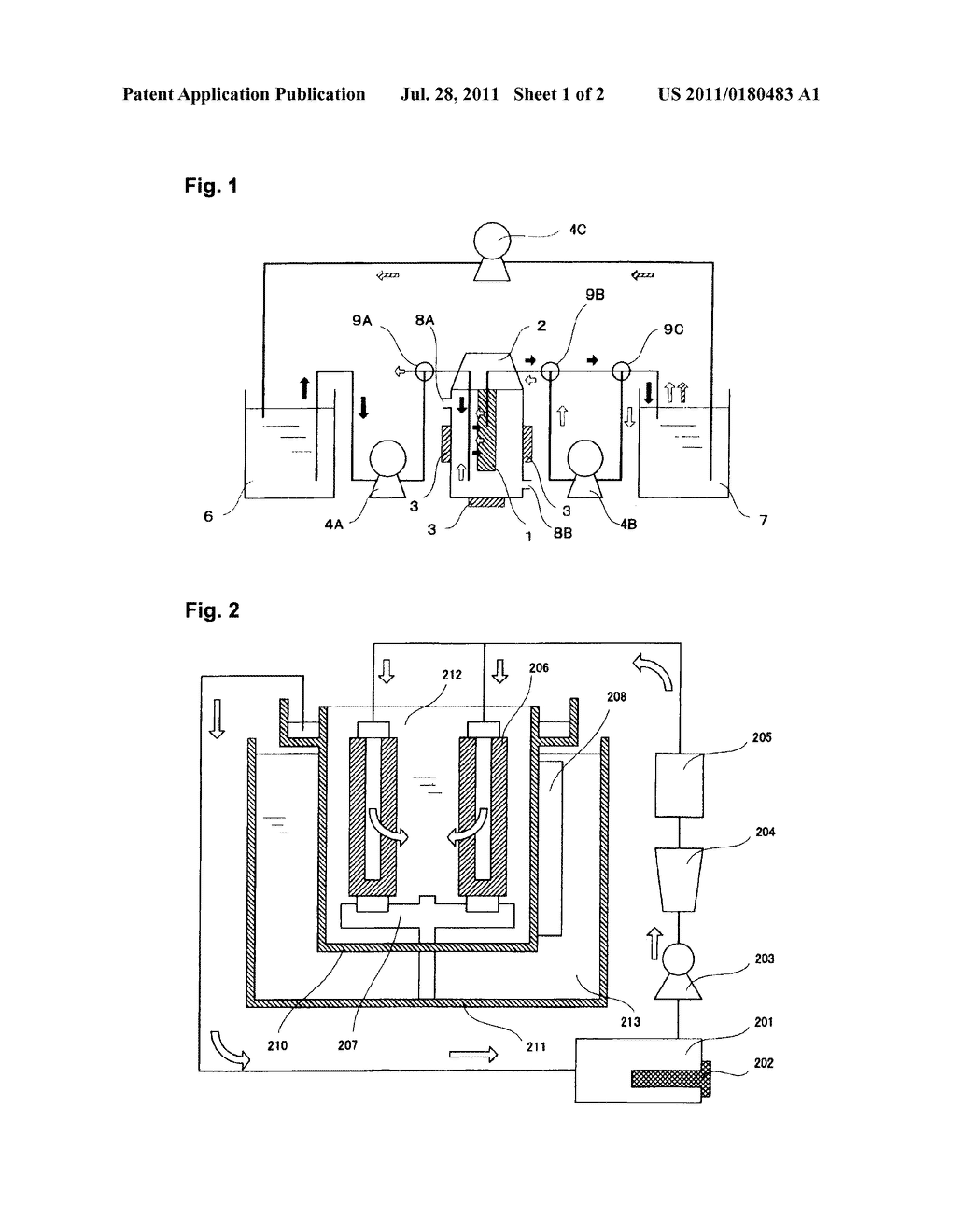 FILTRATION METHOD, METHOD FOR PURIFYING POLISHING COMPOSITION USING IT,     METHOD FOR REGENERATING FILTER TO BE USED FOR FILTRATION, AND FILTER     REGENERATING APPARATUS - diagram, schematic, and image 02