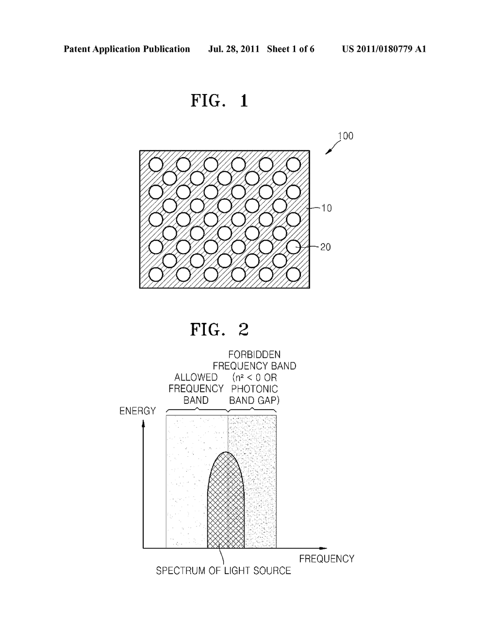 NANOSTRUCTURED THIN FILM, SURFACE LIGHT SOURCE AND DISPLAY APPARATUS     EMPLOYING NANOSTRUCTURED THIN FILM - diagram, schematic, and image 02