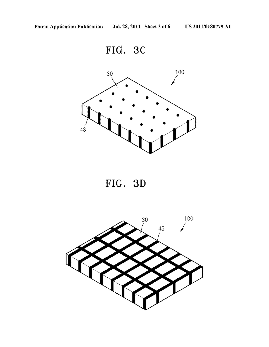 NANOSTRUCTURED THIN FILM, SURFACE LIGHT SOURCE AND DISPLAY APPARATUS     EMPLOYING NANOSTRUCTURED THIN FILM - diagram, schematic, and image 04