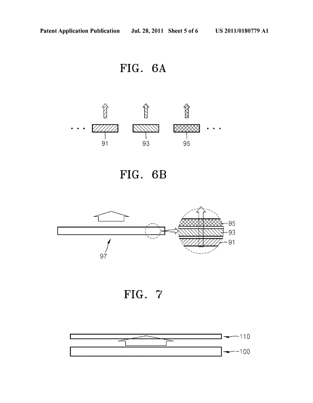 NANOSTRUCTURED THIN FILM, SURFACE LIGHT SOURCE AND DISPLAY APPARATUS     EMPLOYING NANOSTRUCTURED THIN FILM - diagram, schematic, and image 06