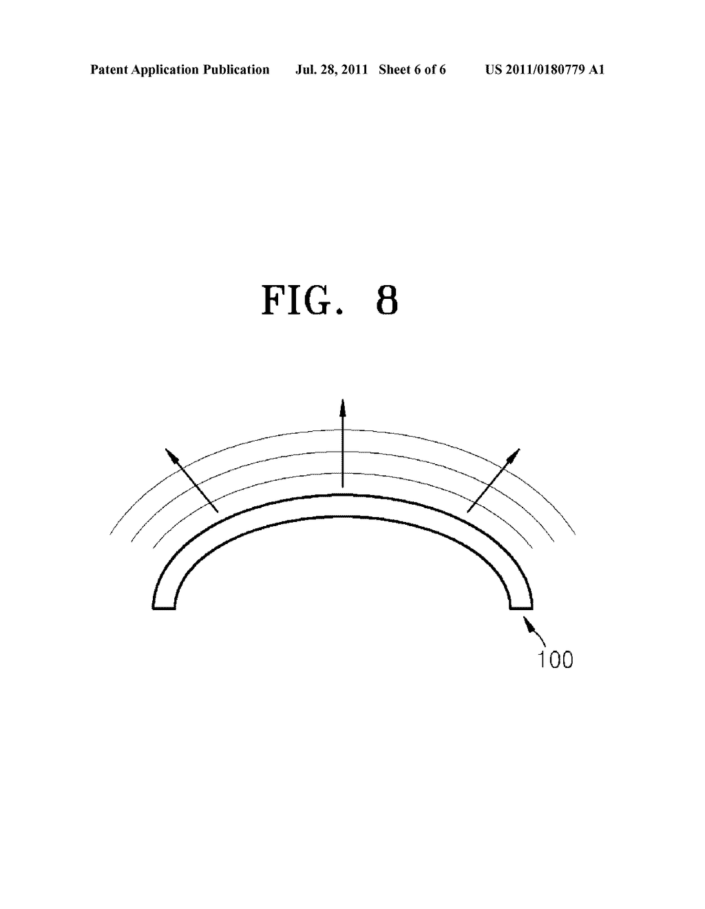NANOSTRUCTURED THIN FILM, SURFACE LIGHT SOURCE AND DISPLAY APPARATUS     EMPLOYING NANOSTRUCTURED THIN FILM - diagram, schematic, and image 07