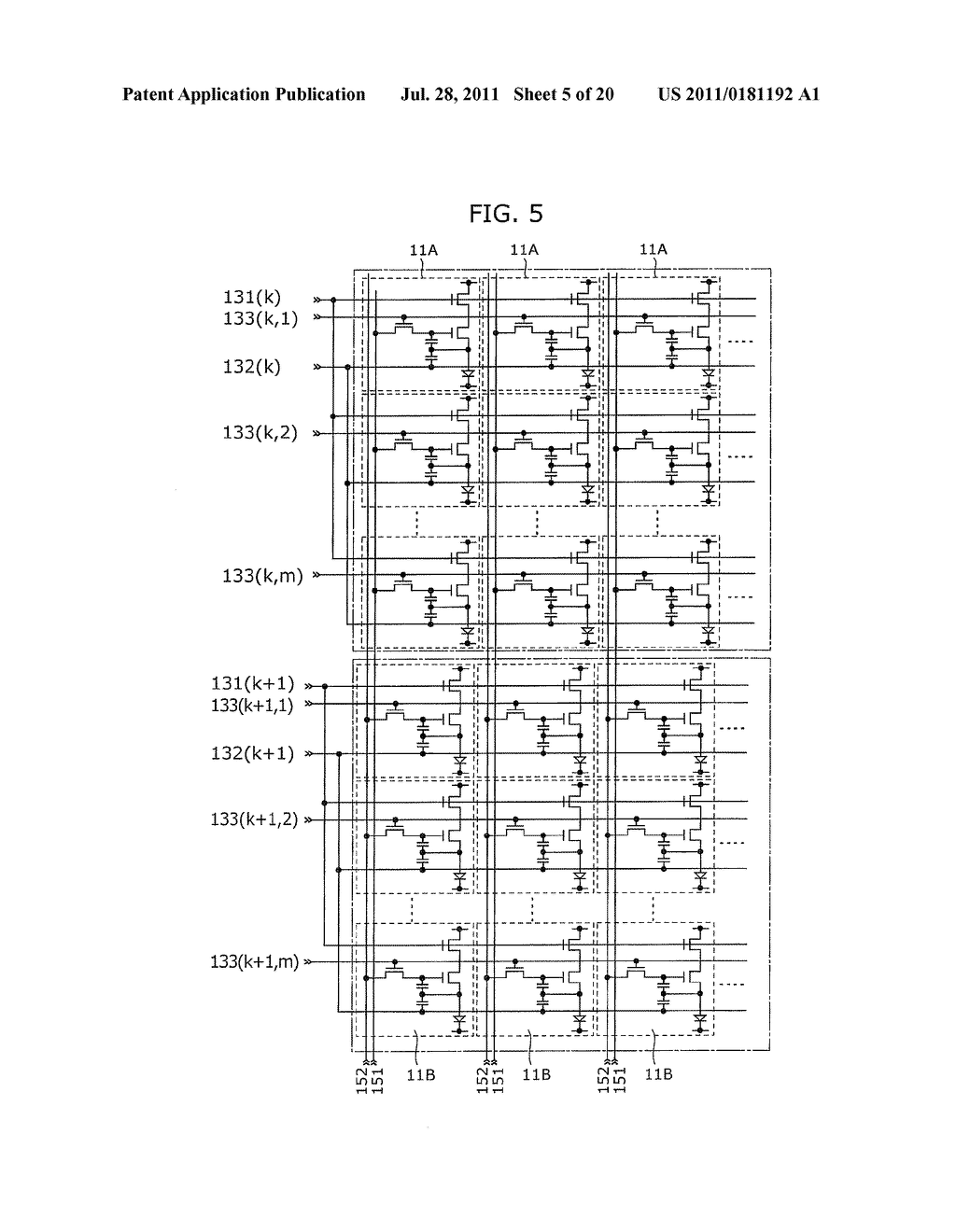 IMAGE DISPLAY DEVICE AND DRIVING METHOD THEREOF - diagram, schematic, and image 06