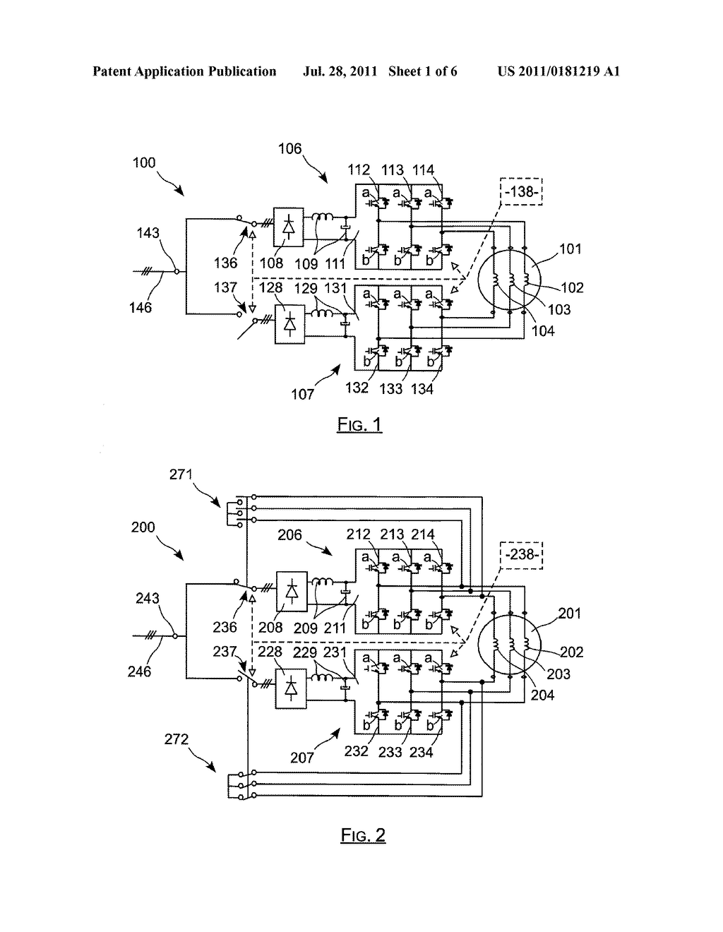 ELECTRIC ACTUATOR INCLUDING TWO CURRENT-CONTROLLED VOLTAGE INVERTERS     POWERING AN ELECTRIC MACHINE, AND RECONFIGURABLE IN THE PRESENCE OF A     DEFECT - diagram, schematic, and image 02