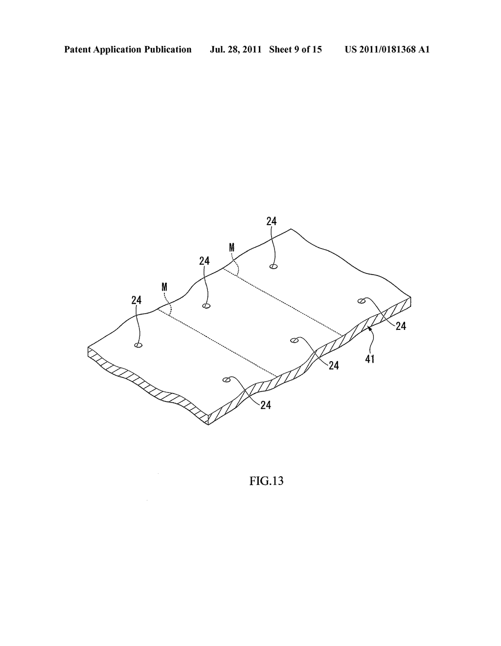 PACKAGE MANUFACTURING METHOD, PIEZOELECTRIC VIBRATOR MANUFACTURING METHOD,     OSCILLATOR, ELECTRONIC DEVICE, AND RADIO-CONTROLLED TIMEPIECE - diagram, schematic, and image 10
