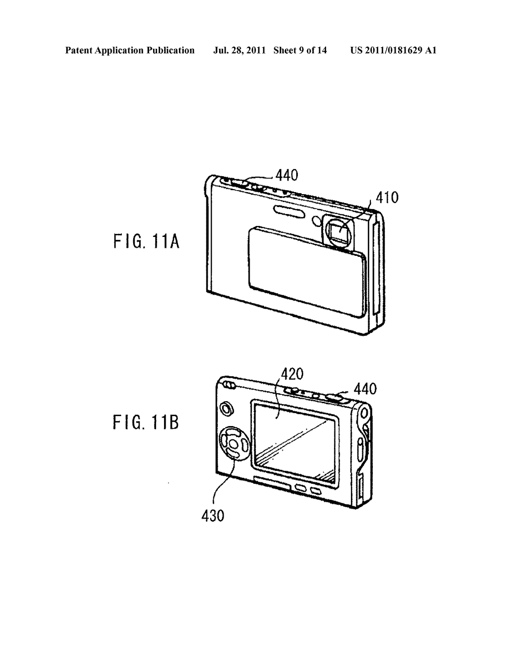 DISPLAY DEVICE, METHOD OF DRIVING THE DISPLAY DEVICE, AND ELECTRONIC     DEVICE - diagram, schematic, and image 10