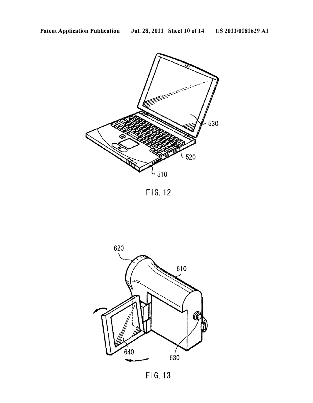 DISPLAY DEVICE, METHOD OF DRIVING THE DISPLAY DEVICE, AND ELECTRONIC     DEVICE - diagram, schematic, and image 11