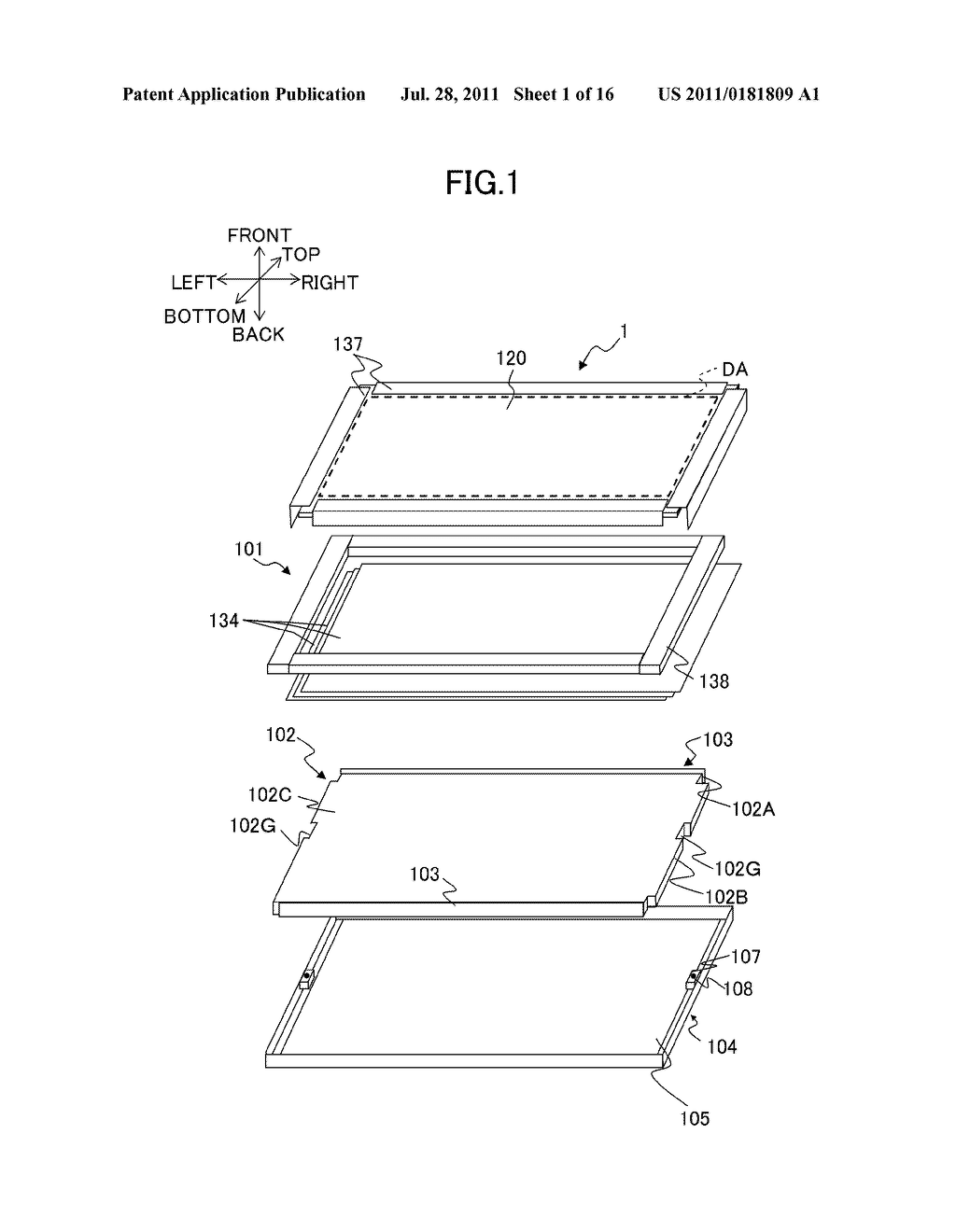 LIQUID CRYSTAL DISPLAY DEVICE AND ILLUMINATING DEVICE - diagram, schematic, and image 02