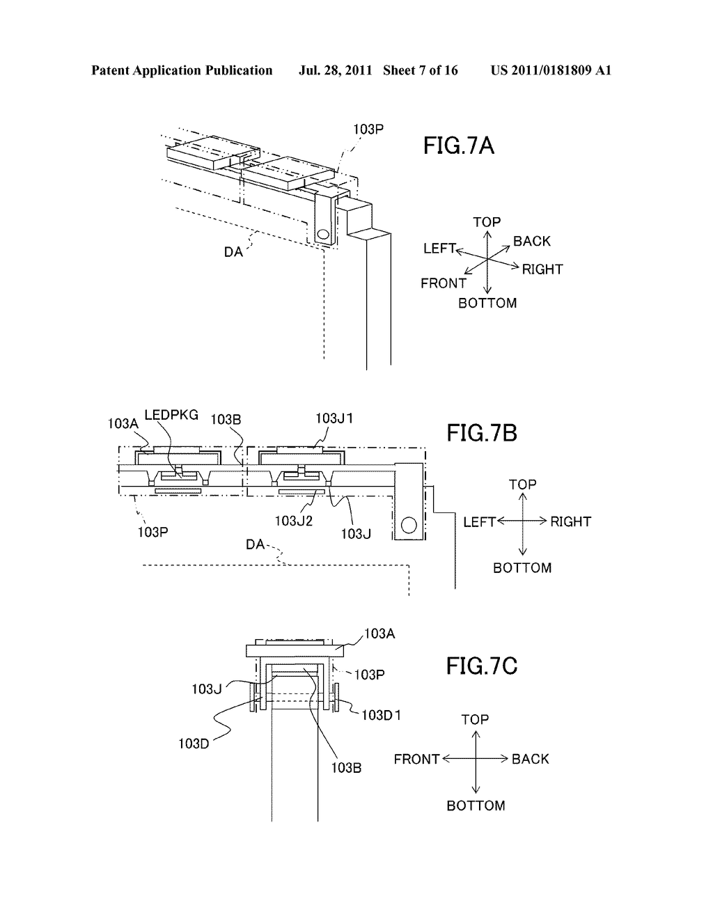LIQUID CRYSTAL DISPLAY DEVICE AND ILLUMINATING DEVICE - diagram, schematic, and image 08