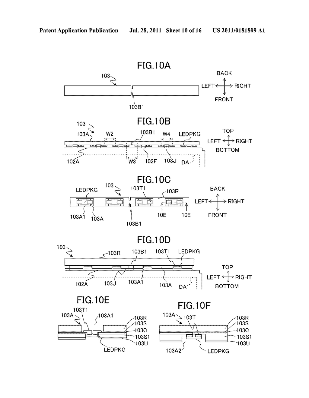 LIQUID CRYSTAL DISPLAY DEVICE AND ILLUMINATING DEVICE - diagram, schematic, and image 11
