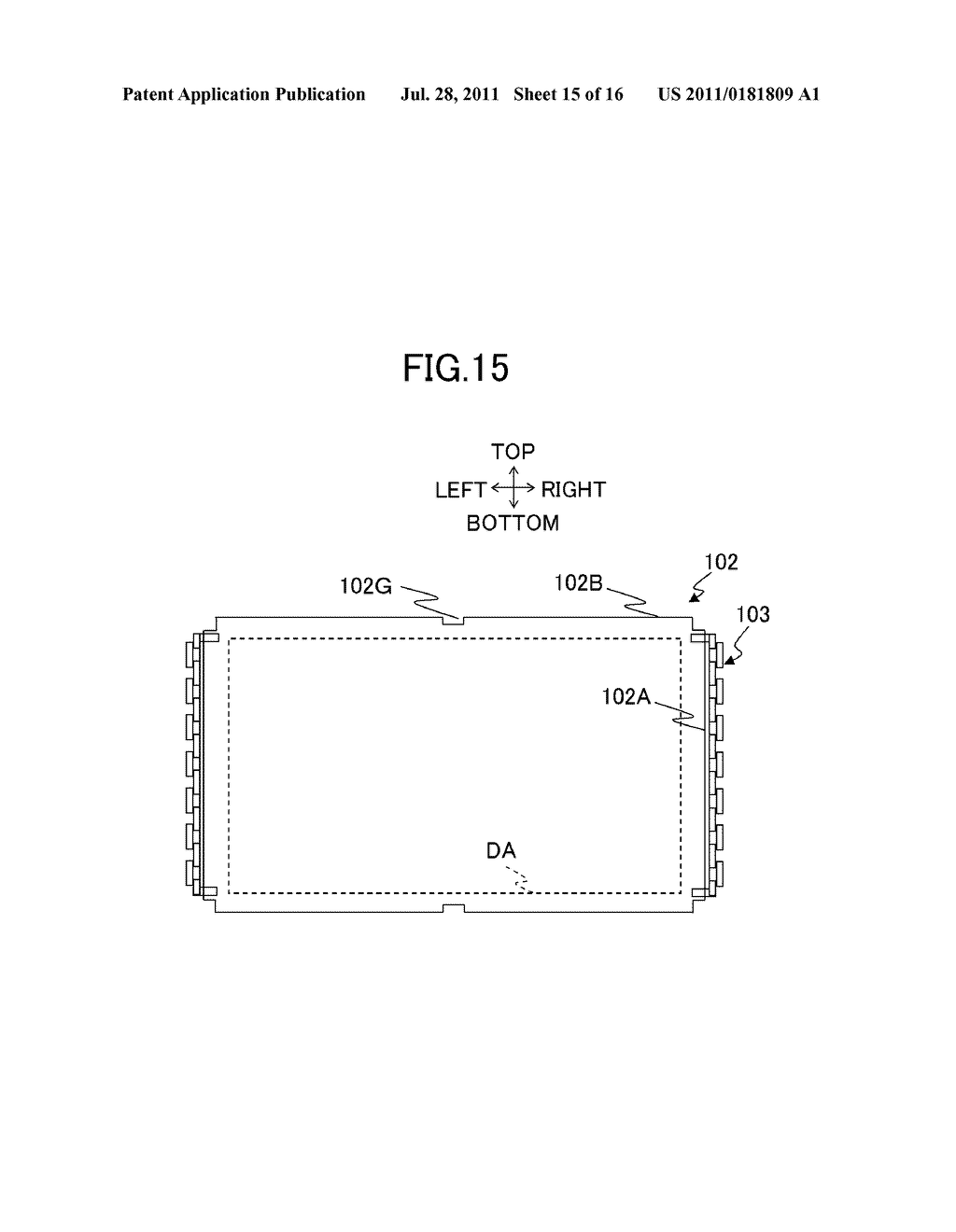 LIQUID CRYSTAL DISPLAY DEVICE AND ILLUMINATING DEVICE - diagram, schematic, and image 16