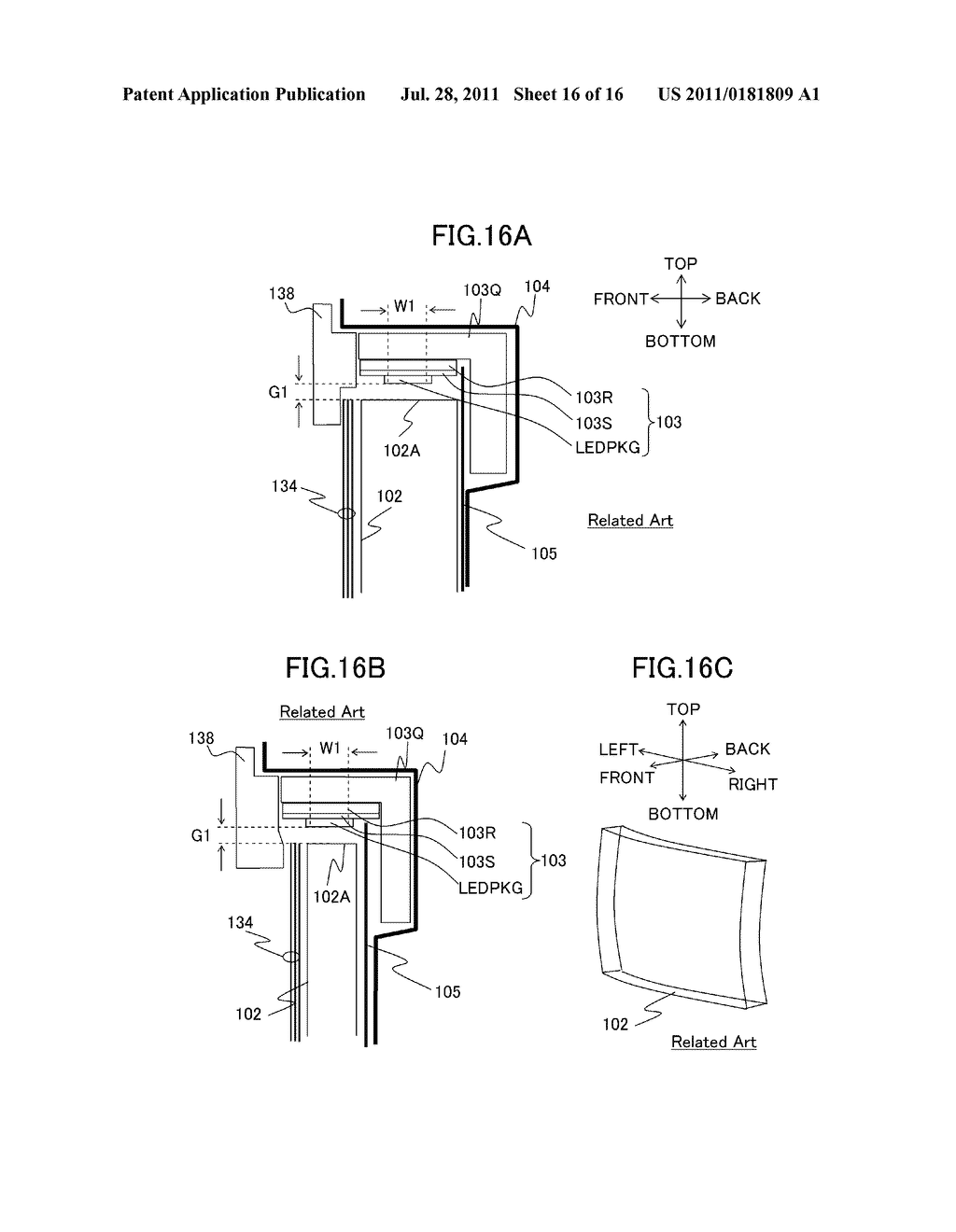 LIQUID CRYSTAL DISPLAY DEVICE AND ILLUMINATING DEVICE - diagram, schematic, and image 17