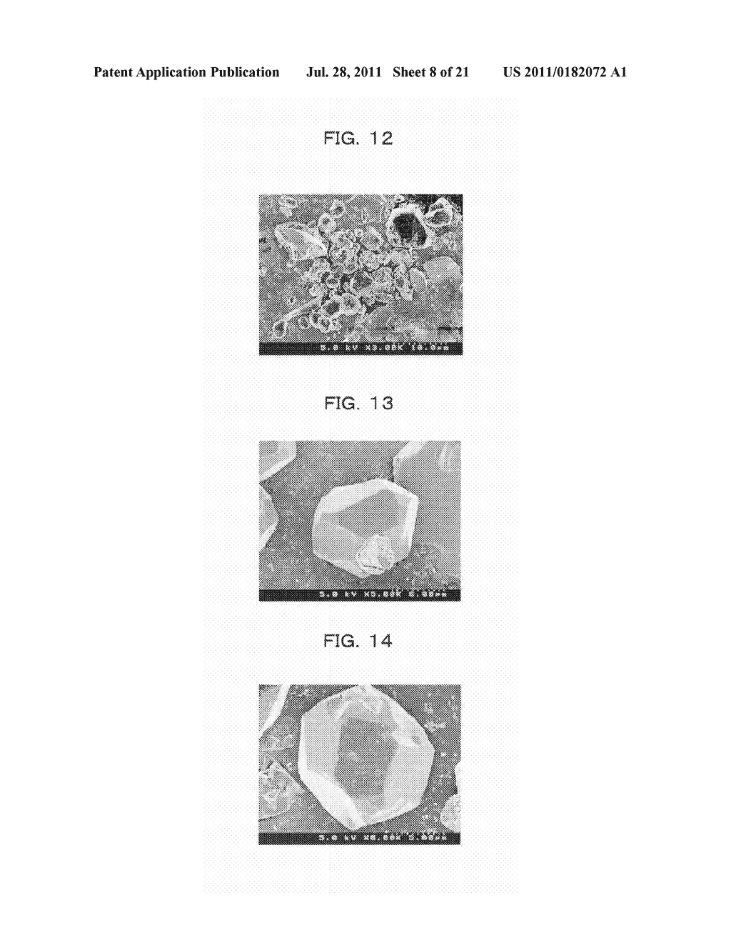 PHOSPHOR, PRODUCTION METHOD OF PHOSPHOR, PHOSPHOR-CONTAINING COMPOSITION,     AND LIGHT EMITTING DEVICE - diagram, schematic, and image 09