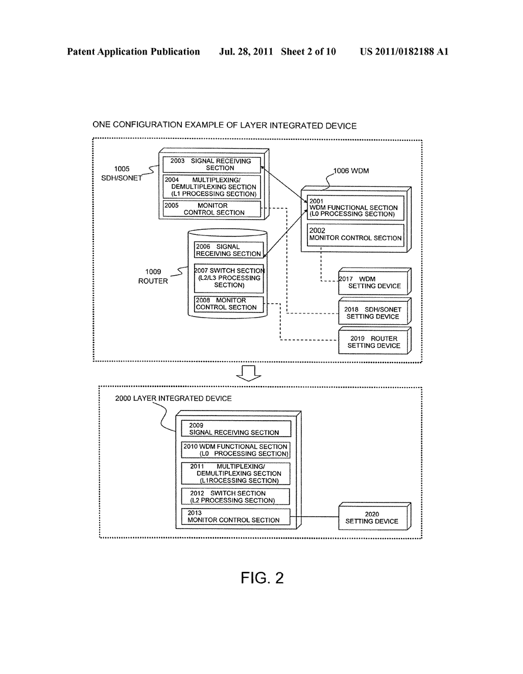 FAILURE DISPLAY METHOD, FAILURE SETTING DEVICE AND MONITOR CONTROL DEVICE - diagram, schematic, and image 03