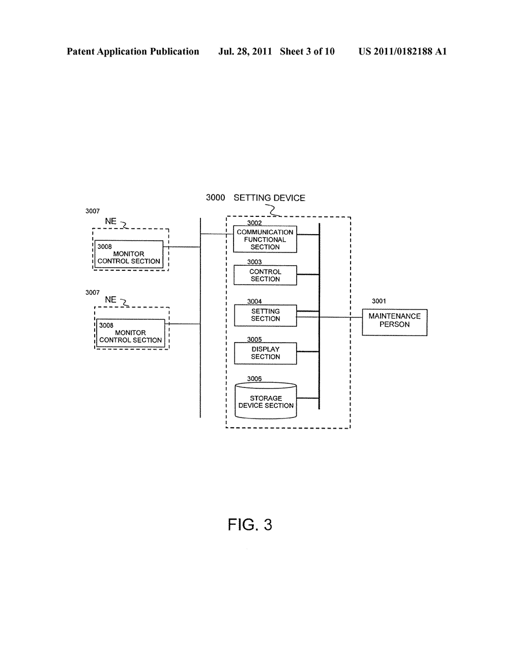 FAILURE DISPLAY METHOD, FAILURE SETTING DEVICE AND MONITOR CONTROL DEVICE - diagram, schematic, and image 04