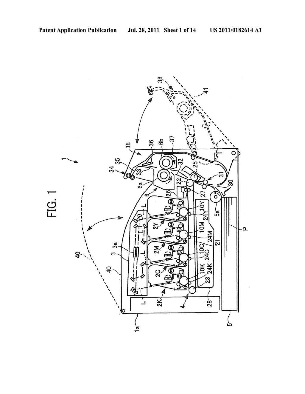 Interlock System And Image Forming Apparatus Incorporating Interlock     System - diagram, schematic, and image 02