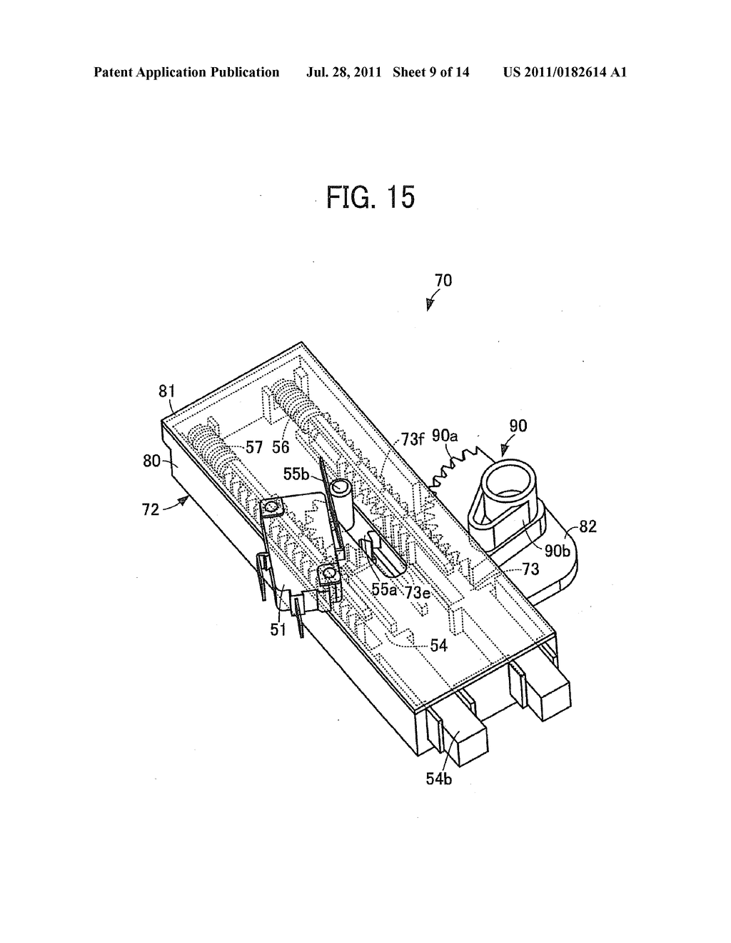 Interlock System And Image Forming Apparatus Incorporating Interlock     System - diagram, schematic, and image 10