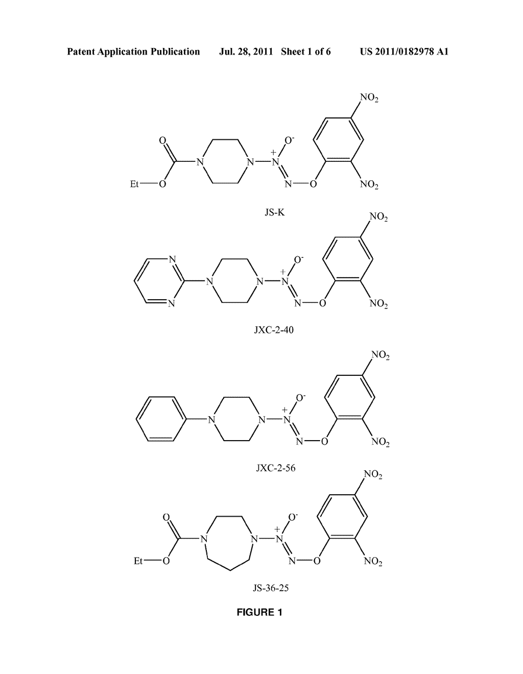 ACTIVATED NITRIC OXIDE DONORS AND METHODS OF MAKING AND USING THEREOF - diagram, schematic, and image 02