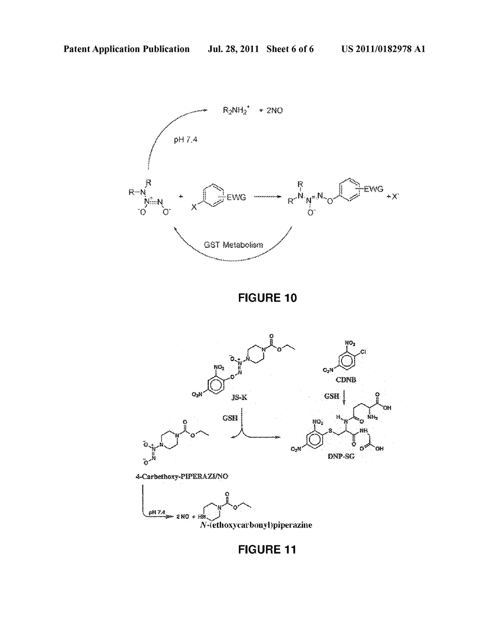 ACTIVATED NITRIC OXIDE DONORS AND METHODS OF MAKING AND USING THEREOF - diagram, schematic, and image 07
