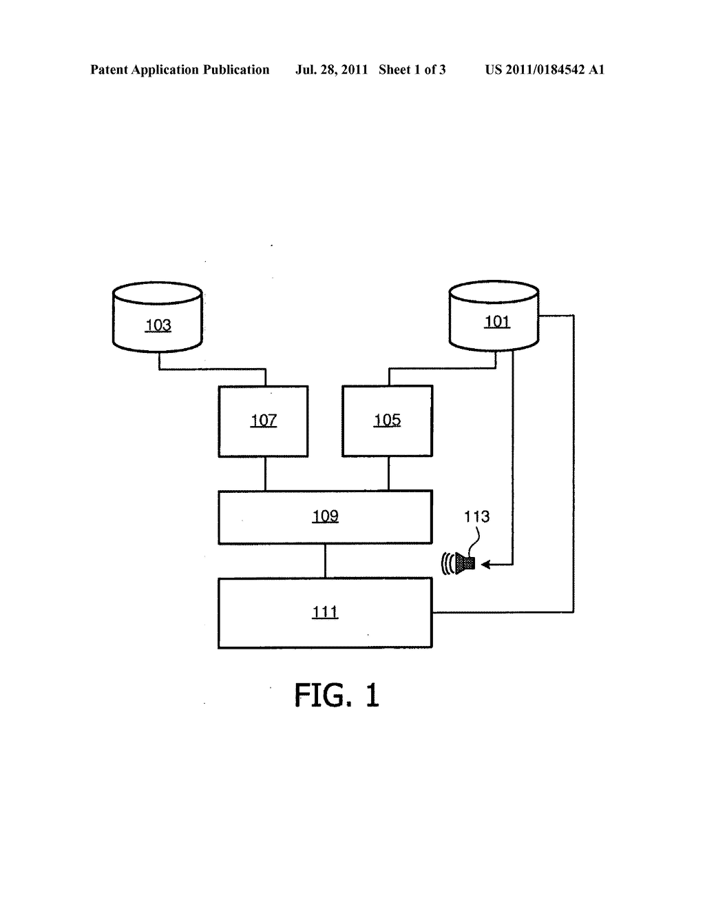 METHOD AND APPARATUS FOR GENERATING A SEQUENCE OF A PLURALITY OF IMAGES TO     BE DISPLAYED WHILST ACCOMPANIED BY AUDIO - diagram, schematic, and image 02