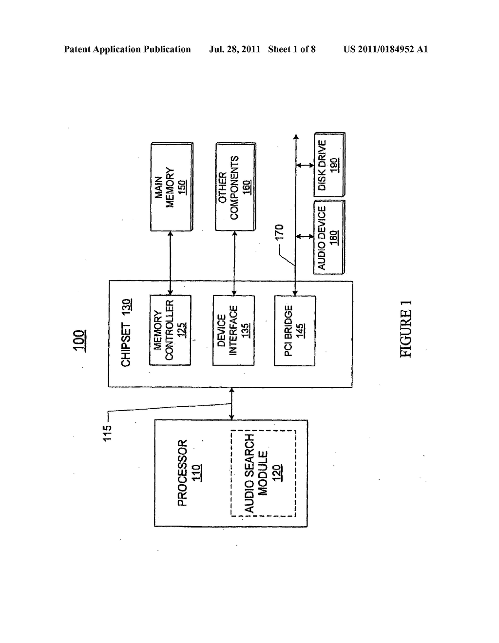 Method And Apparatus For Fast Audio Search - diagram, schematic, and image 02