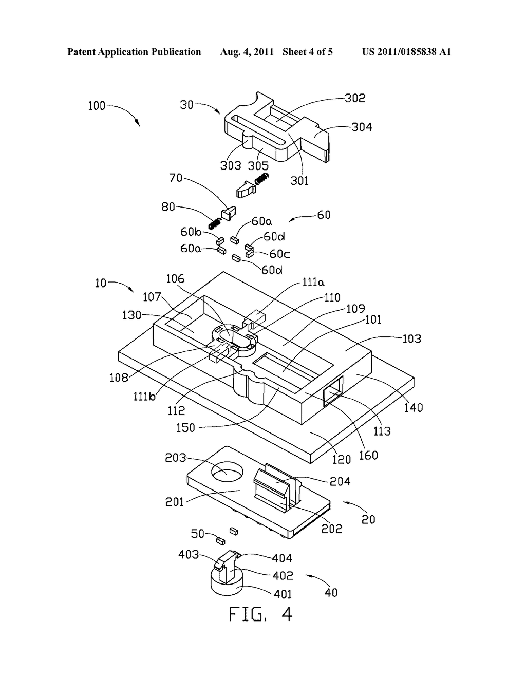 push button switch with locking mechanism - diagram, schematic, and image 05