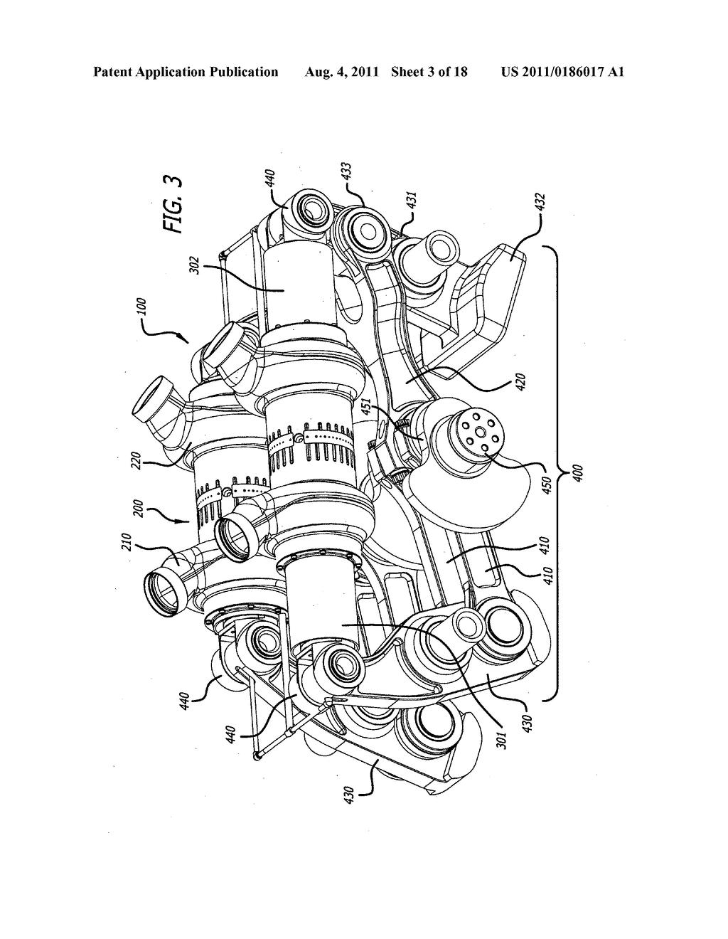 Single-crankshaft, opposed-piston engine constructions - diagram ...