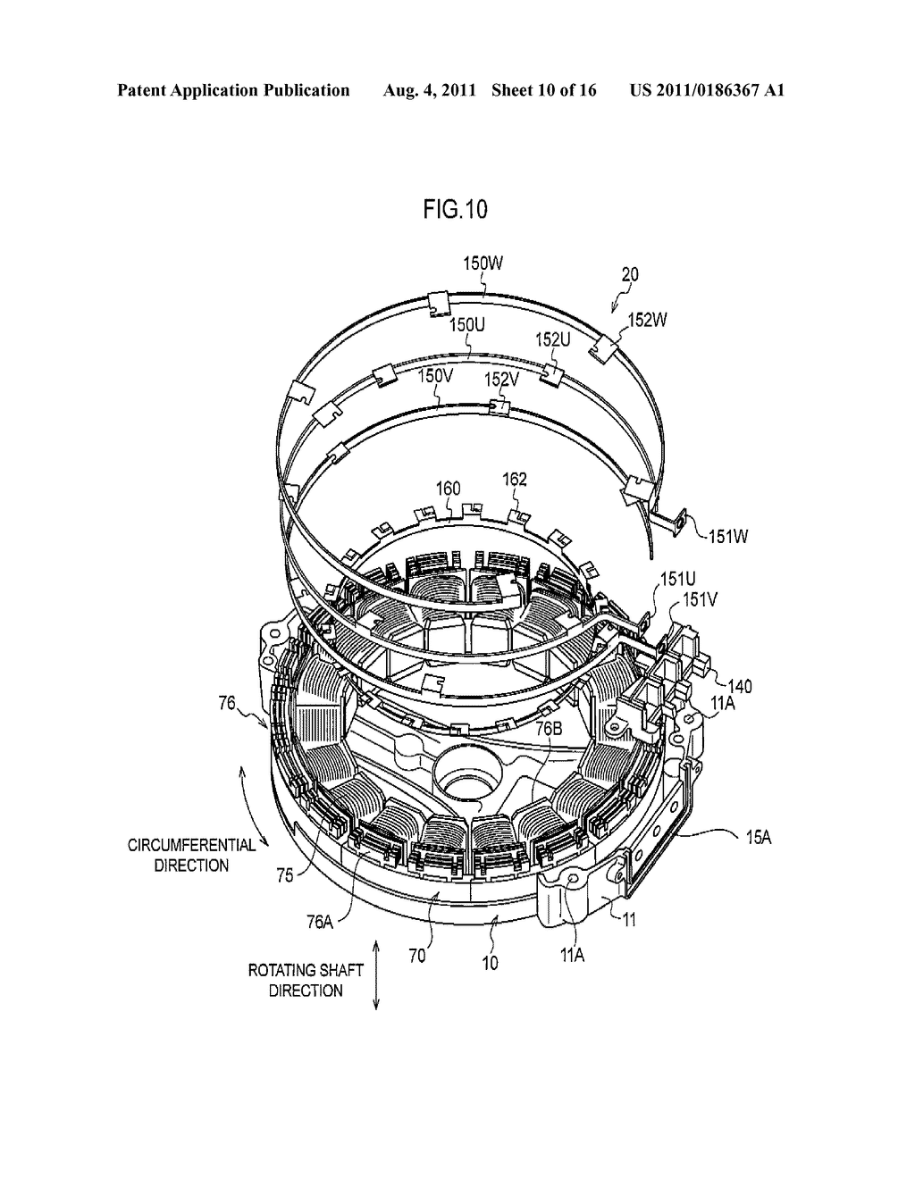 ELECTRIC MOTOR, ELECTRIC VEHICLE, AND MANUFACTURING METHOD OF ELECTRIC     MOTOR - diagram, schematic, and image 11