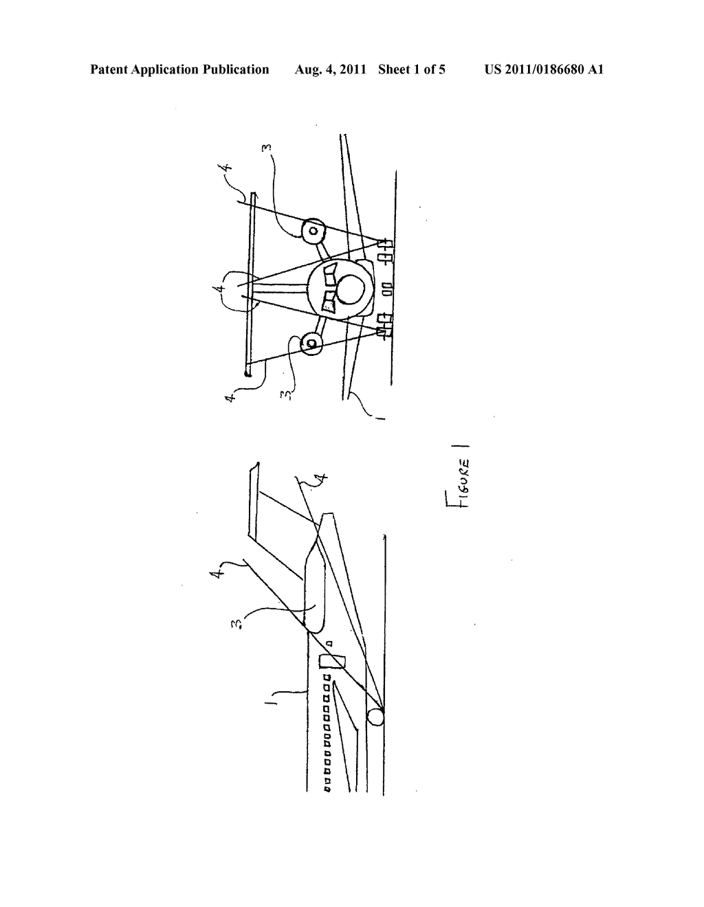 Aircraft landing gear - diagram, schematic, and image 02
