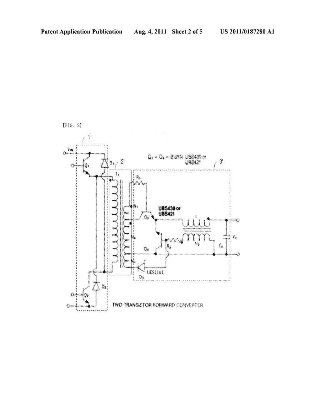 Primary Drive Synchronous High Speed Switching Rectifying Circuit Half Switched Schematic Wiring Diagram For Llc Bridge Power Converter Driving Led And Image 03