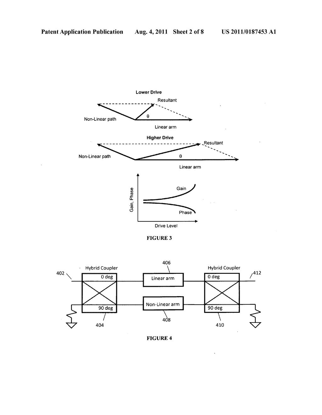 Linearizer incorporating a phase shifter - diagram, schematic, and image 03