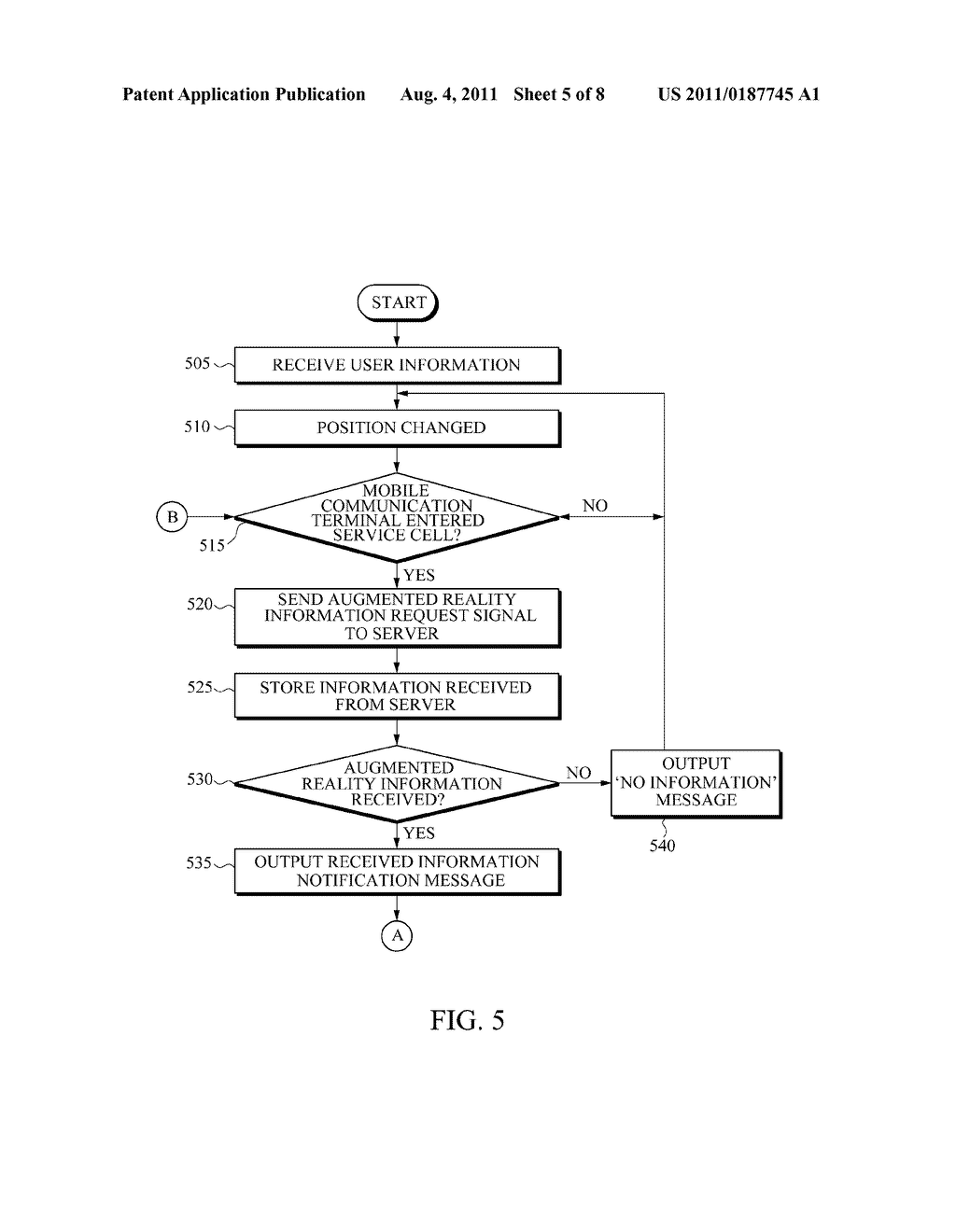 APPARATUS AND METHOD FOR PROVIDING AUGMENTED REALITY INFORMATION - diagram, schematic, and image 06