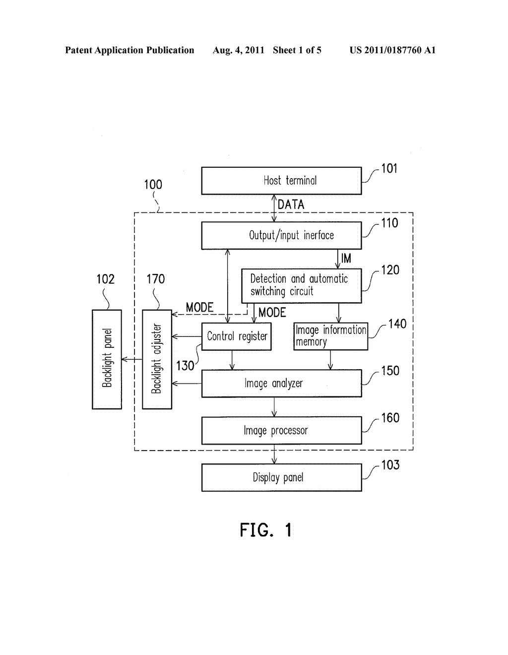 BACKLIGHT CONTROL APPARATUS AND CONTROL METHOD THEREOF - diagram, schematic, and image 02